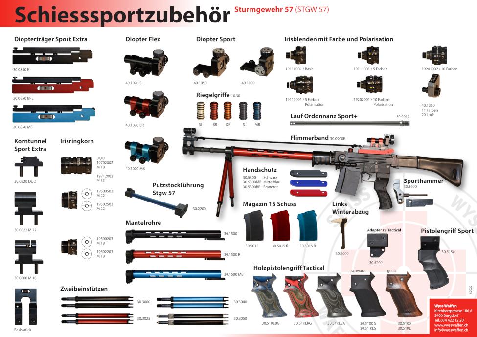 STG57 Sturmgewehr-57